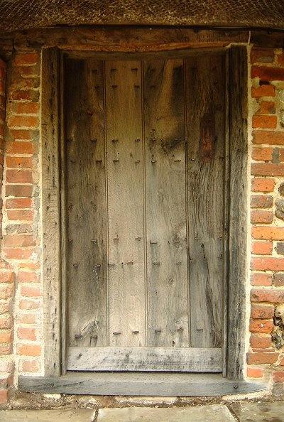 Handmade Oak Ledged Door 18th Century Style Cottage Door