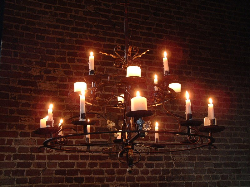 Wrought Iron Candle Chandeliers | Crystal Lighting