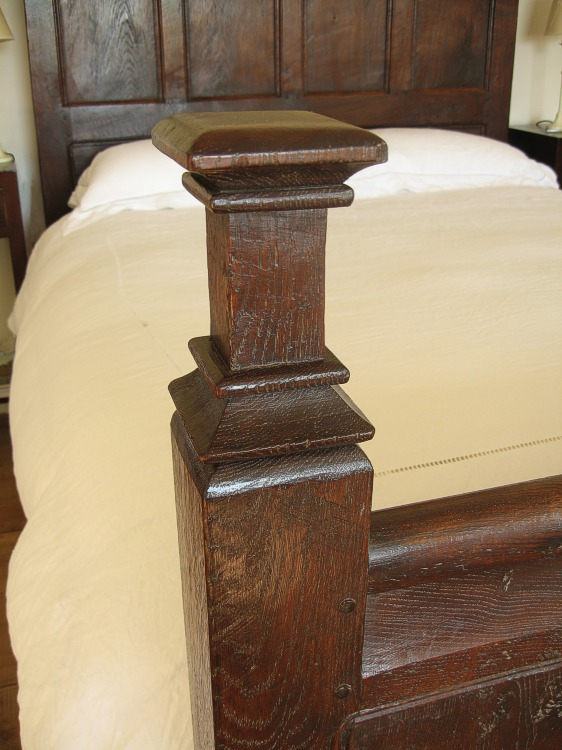Carved footpost hand cut furniture mouldings for Replica furniture uk