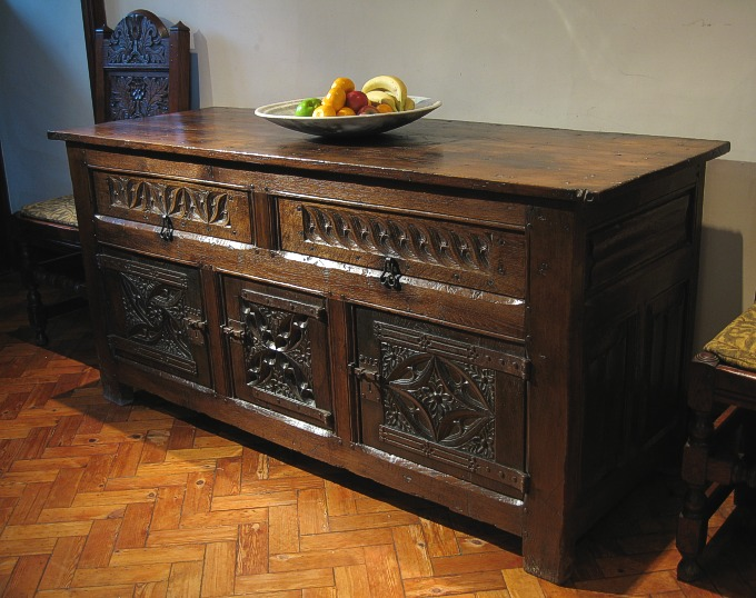 Tudor Style Oak Cupboard Tudor Oak Furniture Early Tudor