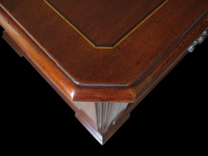 Georgian style mahogany cupboard for Replica furniture uk