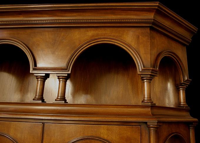 Georgian style furniture detail for Replica furniture uk