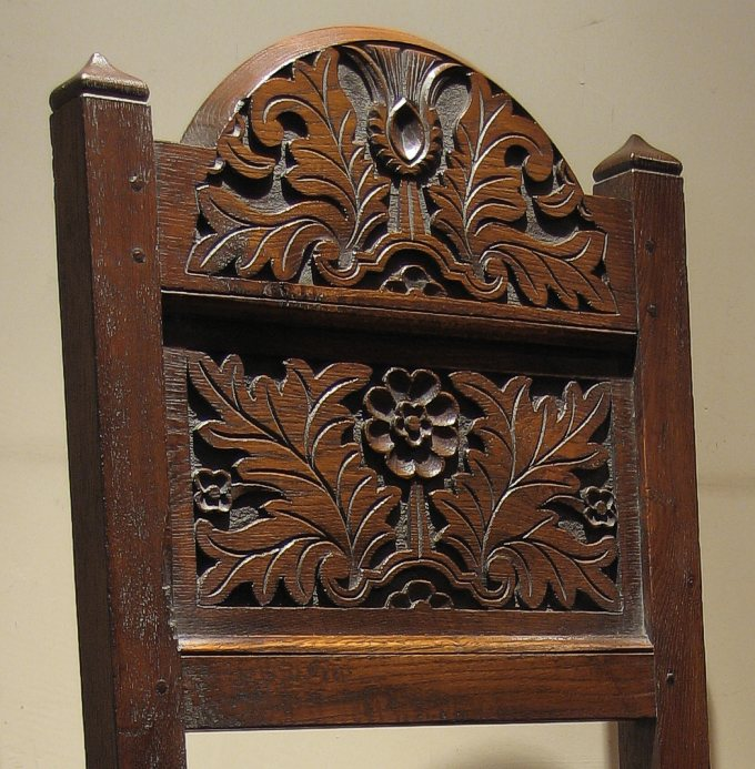Lancashire chair back carving for Replica furniture uk