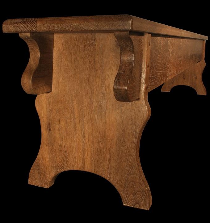 National trust oak benches for Replica furniture uk