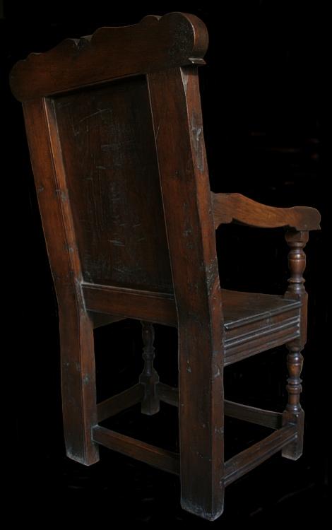 Oak armchair back for Replica furniture uk