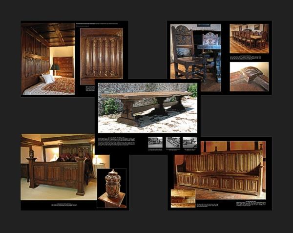 Oak furniture brochure for Replica furniture uk